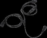 freeVoice Supervisor Y-Kabel, QD auf 2x QD mit Mute Schalter