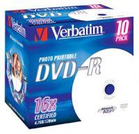 Verbatim DVD-R 4,7GB/120MIN/16x