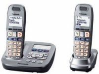 Panasonic KX-TG6592GM graphit Duo mit AB (SOS Notruffunktion)