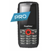 i.safe MOBILE RugGear RG160 Mobiltelefon mit Touchscreen
