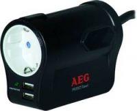 AEG - Steckosenleiste 3-fach mit USB Ladefunktion