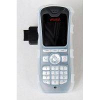CasYy Silikonschutztasche für Avaya 3725 mit Clip, transparent