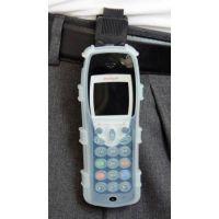 CasYy Silikonschutztasche für Avaya IH4 mit Clip, transparent