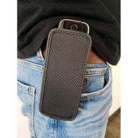 CasYy universal DECT Telefon Tasche, Nylon mit Gürtelschlaufe, schwarz