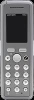 Spectralink Handset 7202 inkl. Akku
