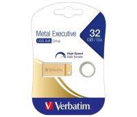 VERBATIM USB 3.0 Stick 32 GB Metal Executive Gold