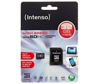 INTENSO micro SDHC Card 32 GB + Adapter