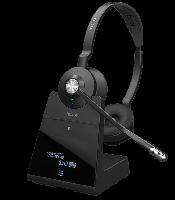 Jabra Engage 75 Stereo Dect-Headset mit Ladestation - Headset für Yealink und Tiptel Telefone