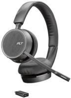Plantronics Bluetooth Headset Voyager 4220 UC Schwarz USB-C