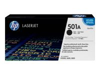 HP 501A - Schwarz - Original - LaserJet - Tonerpatrone (Q6470A)