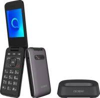 ALCATEL 30.26X Mobiltelefon metallic-grau