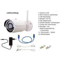 IP Kamera LC30 für Fritzbox Lieferumfang