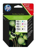 HP Tintenpatrone 950XL Multipack (BK/C/M/Y)