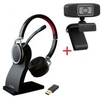 freeVoice Space Stereo NC (Bluetooth, USB) incl. Charger und Vision 320 Webcam