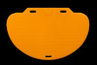 Avaya Secom Kontakt-Trittmatte CareMat, 1100 x 700 x 9 mm, halbrund, kabellos