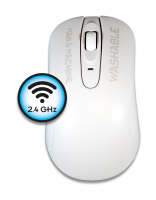 Man & Machine C Mouse Washable Wireless Hygiene Maus