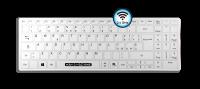 Man & Machine Its Cool Flat Wireless Hygiene Tastatur IP65