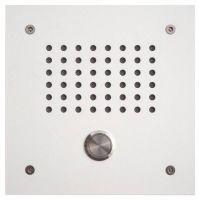 L-TEK Türstation KLASSIK 1N weiss - 1x Klingeltaster ohne Namensschild