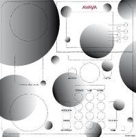 "SKINforPhone Folie ""Bubbles"" für Avaya Telefone"