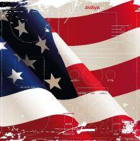 """SKINforPhone Folie """"Flag US"""" für Avaya Telefone"""