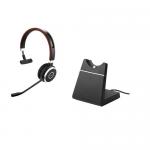 JABRA Evolve 65 MS monaural USB NC mit Ladestation