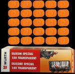 Avaya Secom FUFI Wrist Button Repairkit (25 Buttons + Kleber)