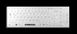 Man & Machine ITS COOL FLAT Hygiene Tastatur mit Cover aus Latex