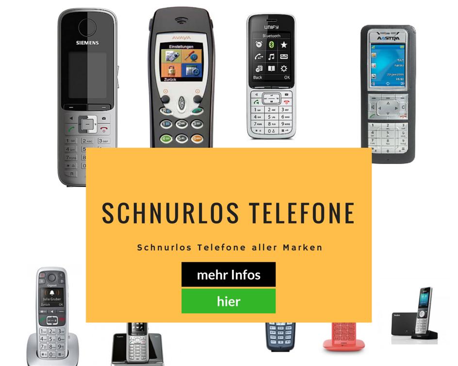 Schnurlos Telefone
